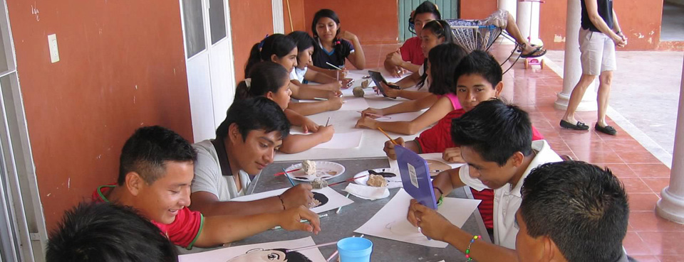 Study time at the Mayan Children's Village